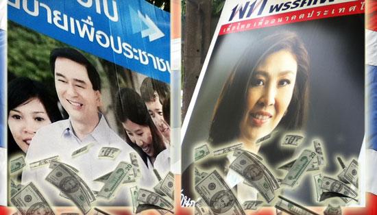 Abihist Yingluck dollars