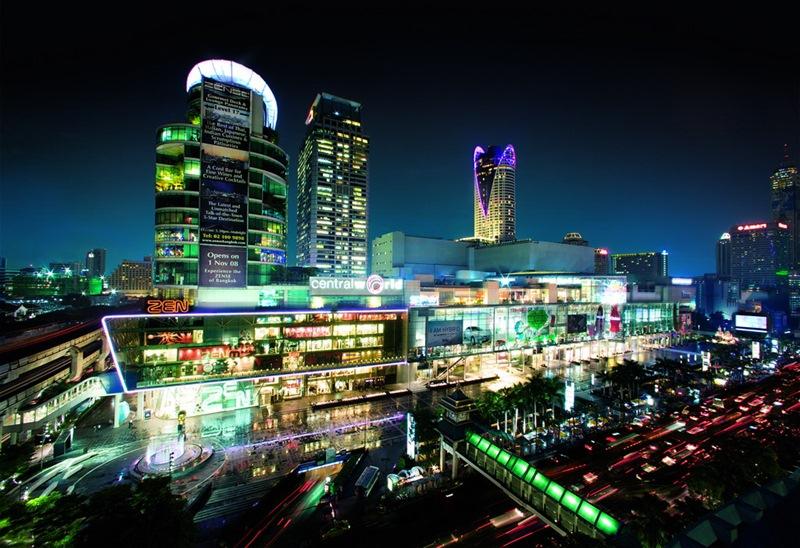 centralworld bangkok night