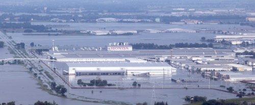 L'usine Honda dans le parc industriel de Rojana à Ayutthaya