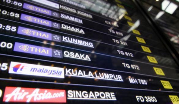 airportboard - thailande-fr