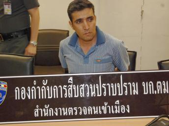 M. Khazaei, a été arrêté à l'aéroport de Suvarnabhumi