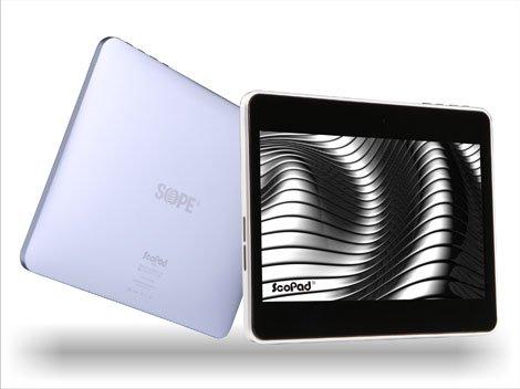 La tablette est conforme aux spécifications du gouvernement d'un écran de sept pouces, 3G intégrée, 512 Mo de RAM, 8 Go de mémoire de stockage et Android Google 3.2.