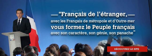 Sarkozy Expat pub 2012