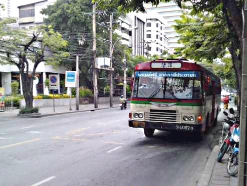 Bus gratuit Bangkok