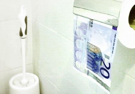 Euro Papier toilette