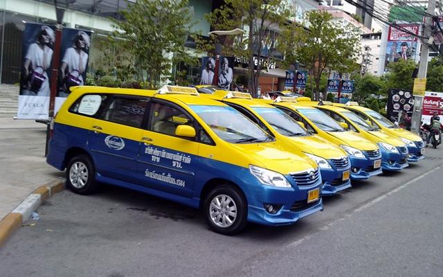 Les taxis de Pattaya sont souvent allergiques au compteur