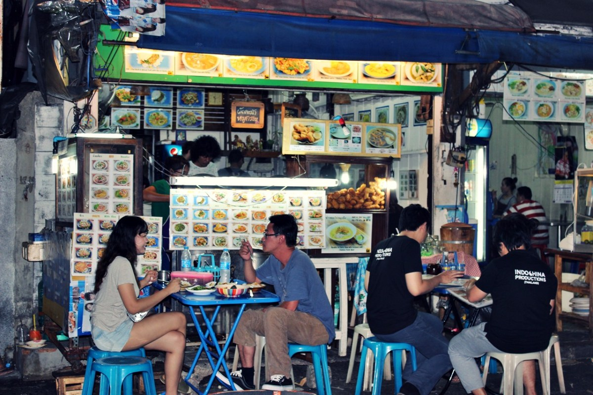 Bangkok Sukhumvit soi 38 Street Food Night Market