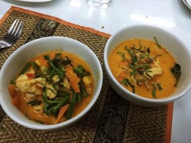 Cours de cuisine thaï. Smile Organic Farm