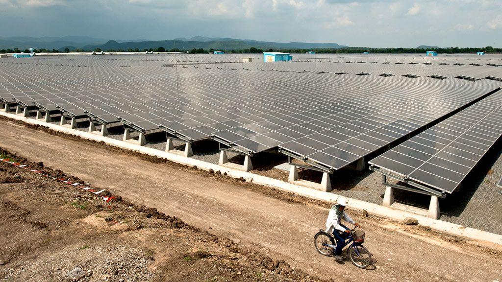 Thailand solar plant