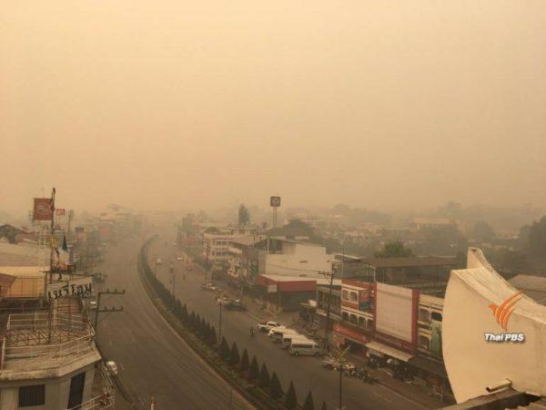 255000 personnes ont été traitées pour une irritation du nez et des yeux causée par la pollution