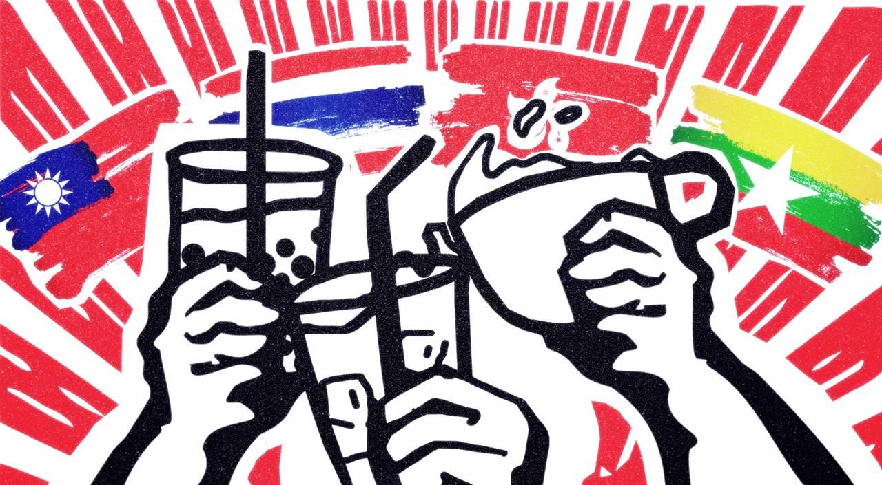 Révolution numérique et répression en Birmanie et en Thaïlande