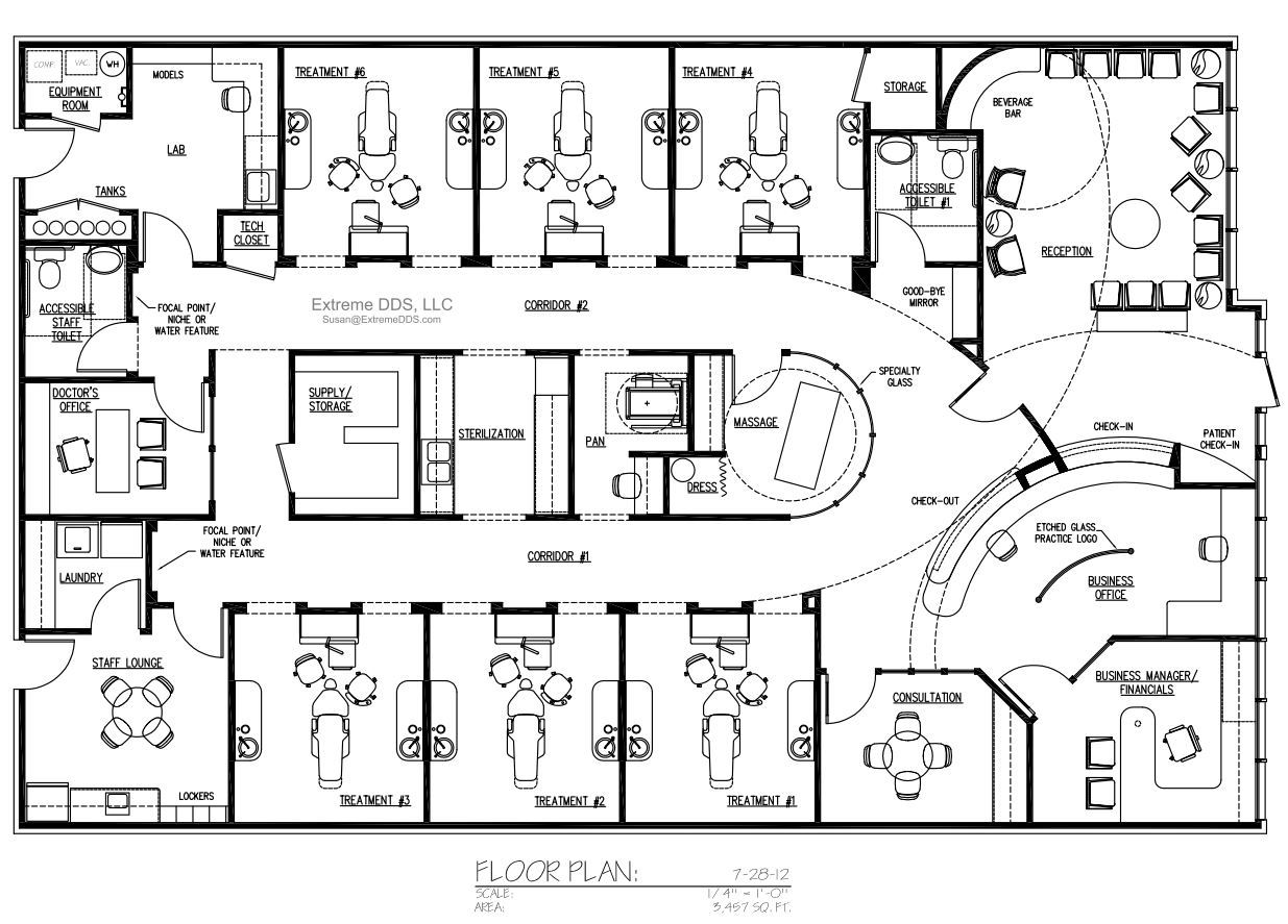 Cosmetic And Specialty Floor Plans