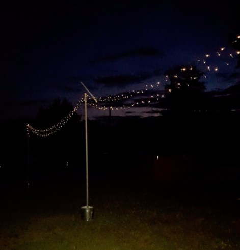 Mobile String Lights atnight
