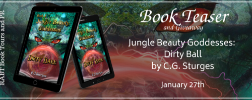 Jungle Beauty Goddesses: Dirty Ball banner