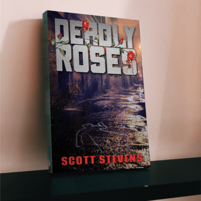 Deadly Roses standing book