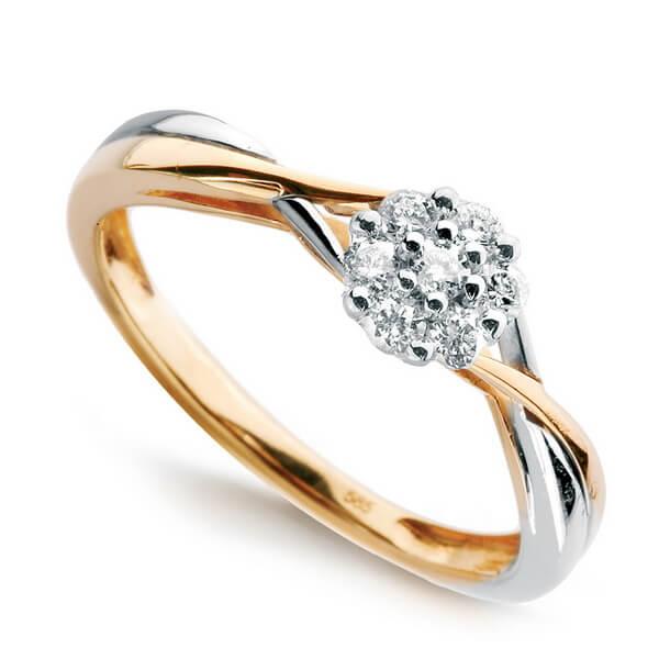 Złoty Pierścionek z Diamentem PXD5621