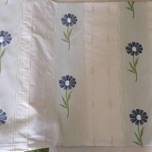 tissus pour doubles rideaux avec des