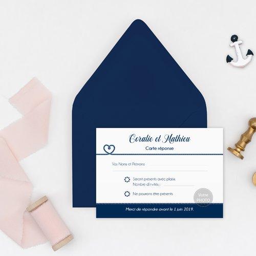mariage bleu marine format a6