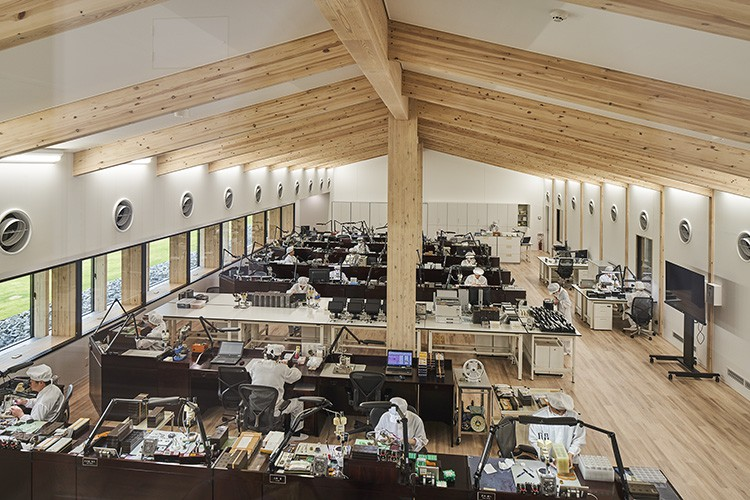 The Grand Seiko Studio Shizukuishi, where nature, craftsmanship and high-technology watchmaking combine.