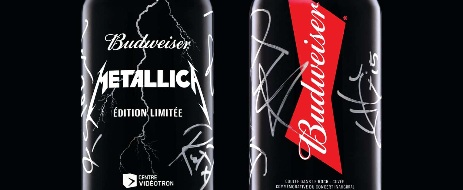 La cuvée Bud/Metallica disponible vendredi partout au ...