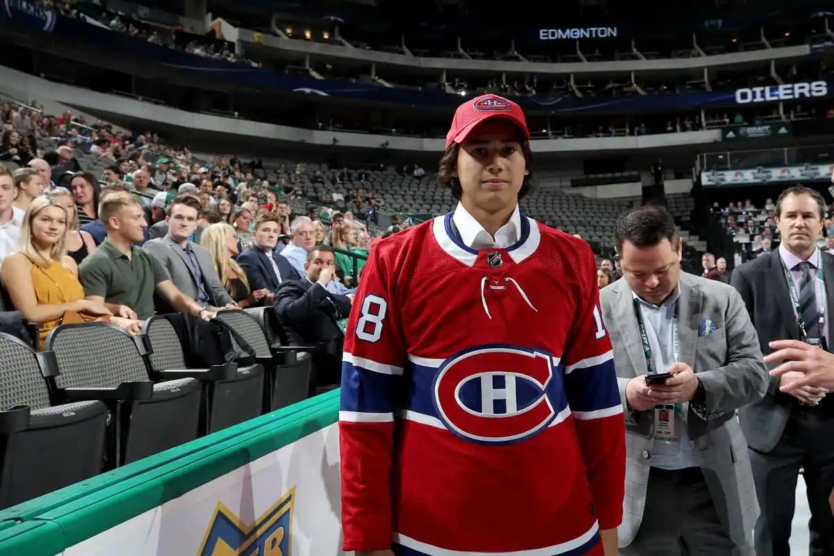 Alexander Romanov «va être un joueur important pour le Canadien», selon André Tourigny
