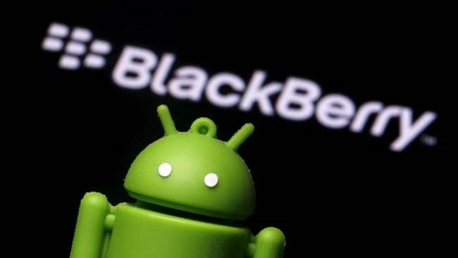 Google e BlackBerry estão a construir uma nova versão do Android 1