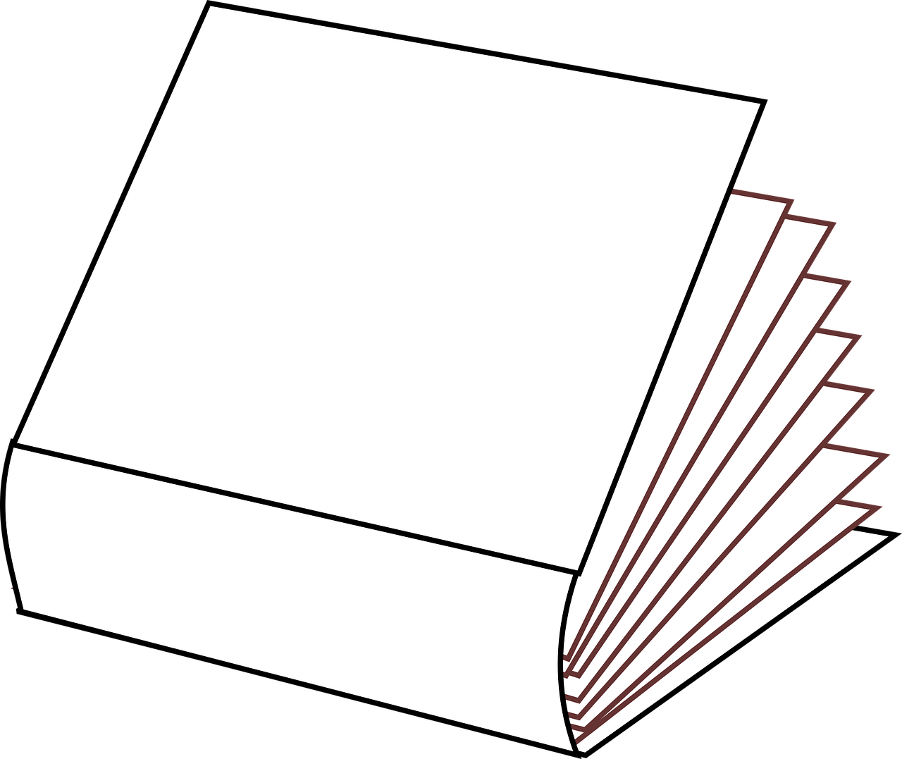 Books Clipart Clipart Books Closed Books Clipart To Color