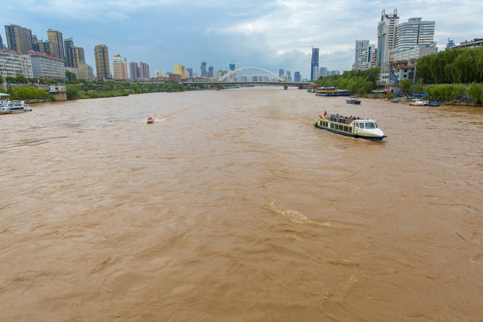 yellow river lanzhou city 4th of the top 10 longest rivers in the world