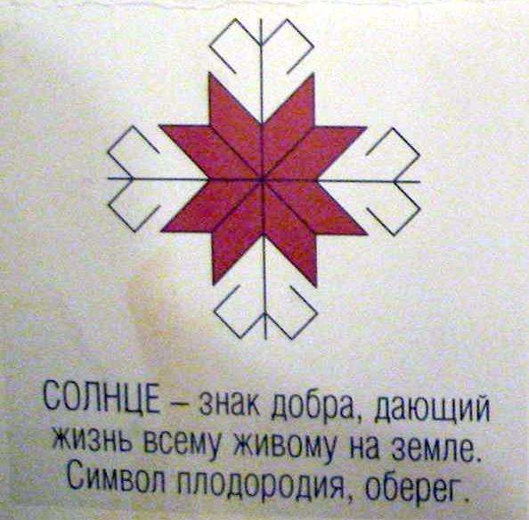 Марийский орнамент. Солнце - Uralistica