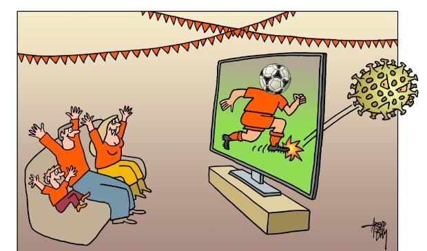 <p>EK voetbal 2021. Even wat anders op tv dan corona.</p>