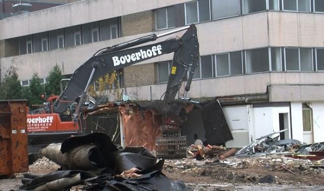 Sloopbedrijf Boverhoff uit Heerde beloofde op duurzame wijze te gaan slopen.
