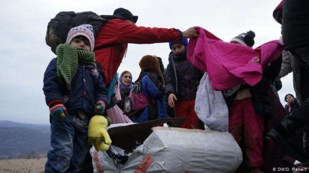 Migranti u surovim uslovima - undefined