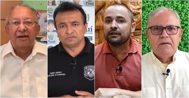 Dr Pessoa, Fábio Abreu, Fábio Novo e Kléber Montezuma: de qual lado eles estão?