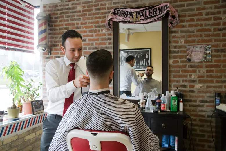 Mens Haircuts Young Barbers Are Repositioning The Barber Shop