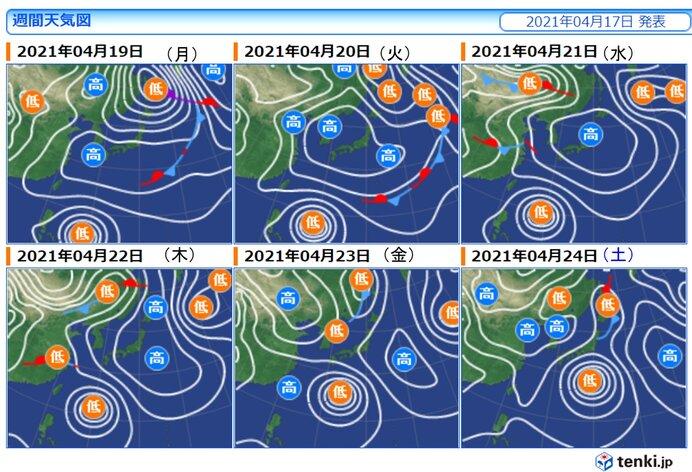 台風の進路は高気圧や偏西風がカギに