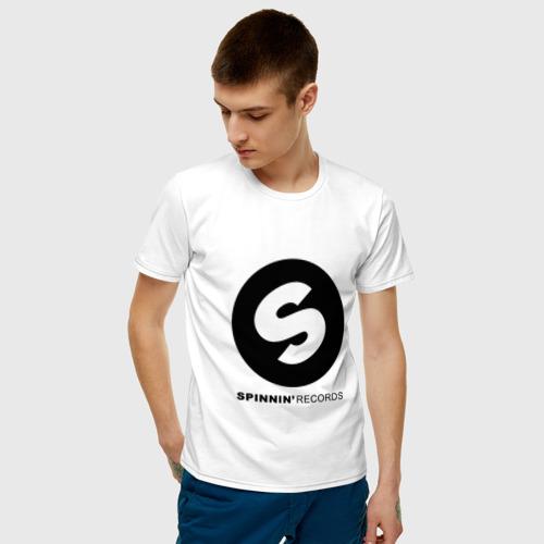 Spinnin records Мужская футболка хлопок с принтом за 1190 ...