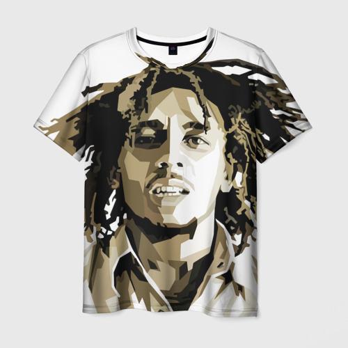 Ямайка, Боб Марли Мужская футболка 3D с принтом за 1090 ...