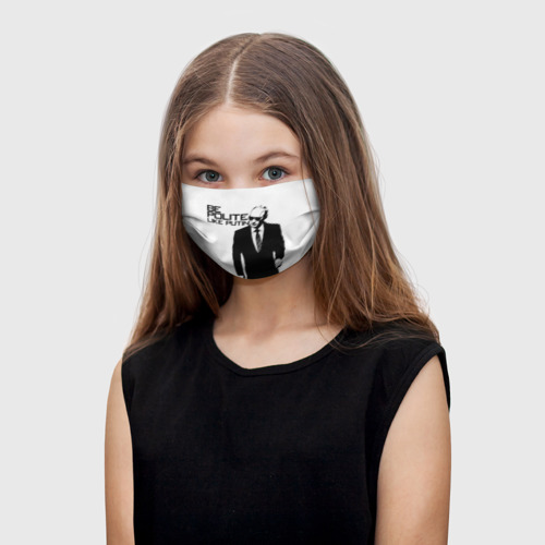 Детская маска (+5 фильтров) Вежливый Путин One купить по ...