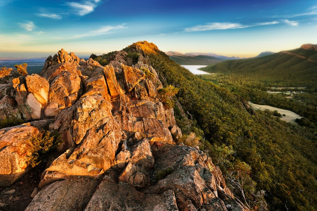Impulsive Escape to Grampians National Park (VIC), Keiran Stone, sky, lake, mountain,