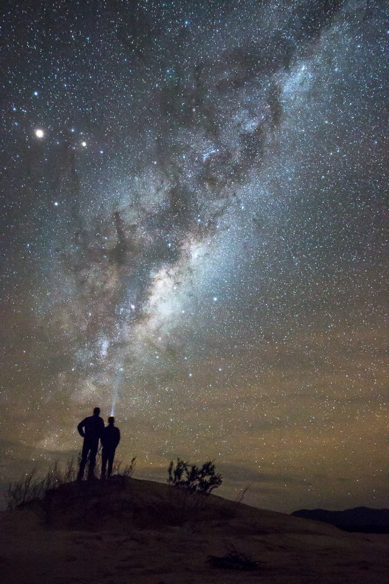 Chasing the Milky Way at The Big Drift // Wilsons Prom (VIC) Chris Langton, stars, milky way, night sky, silhouettes