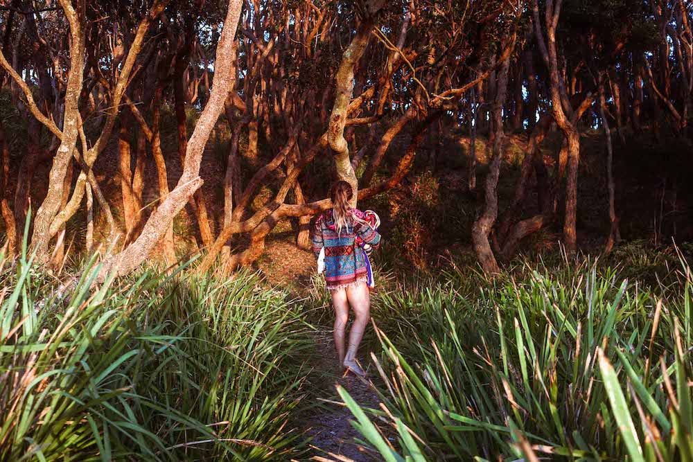 Why You Should Start Living An Adventurous Lifestyle Scout Hinchcliffe, woman, mangroves, lomandra, path, woman