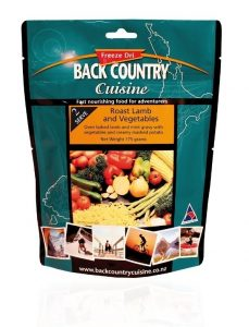 wild earth back country food