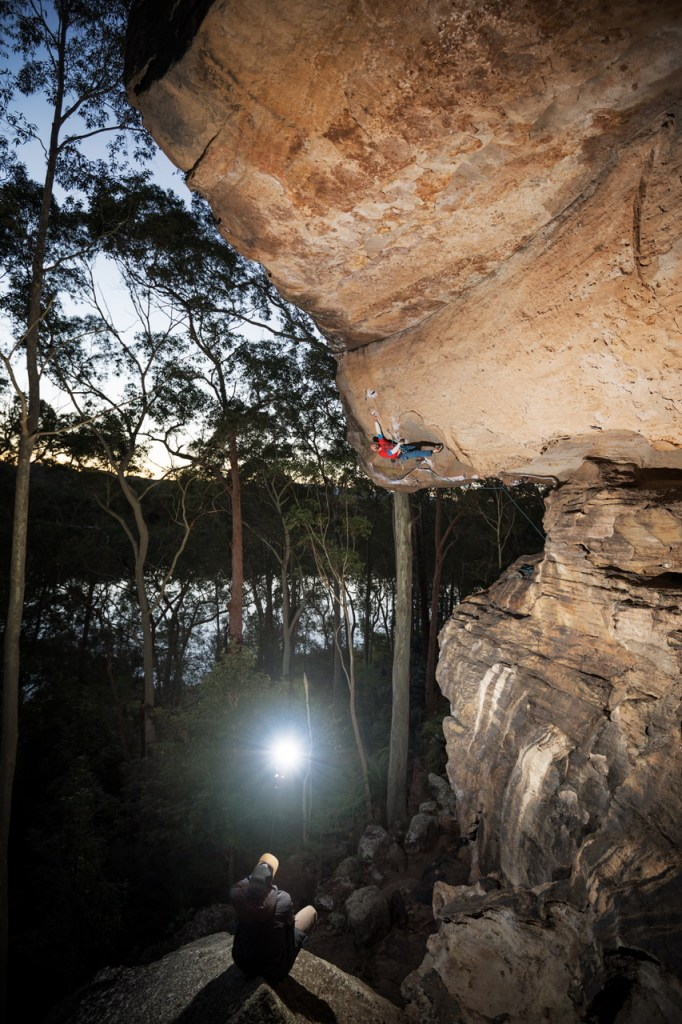 jake anderson adventure photography Rod climbing Nowra