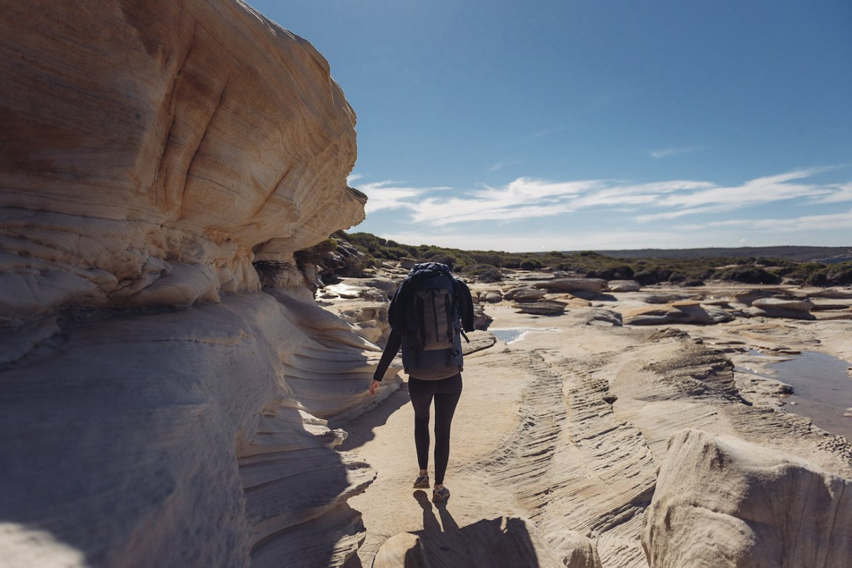 adrian mascenon, the coast track, royal national park, nsw, backpack, hiking, hero, bundeena to otford