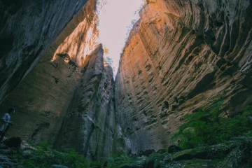 Carnarvon Gorge Queensland Jade Stephens, cliffs, gorge, chasm
