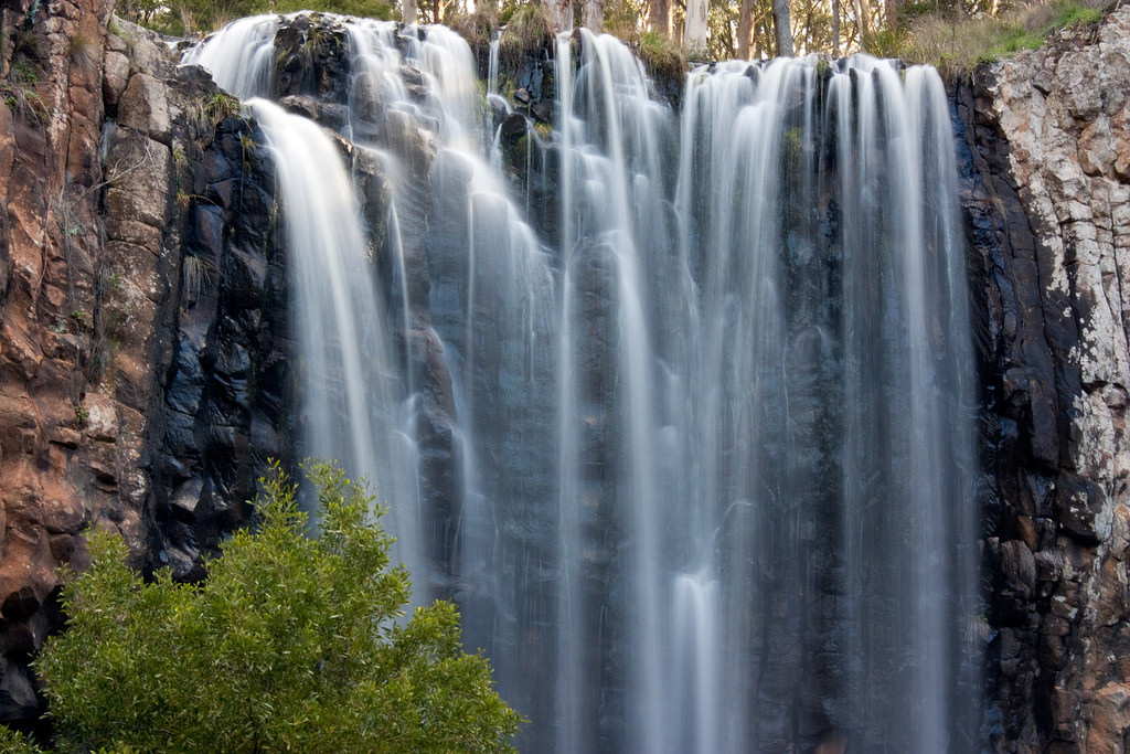 trentham falls, photo by rexness, victoria, waterfall