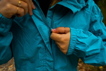 Rays outrak rainjacket Natalie Hardbattle