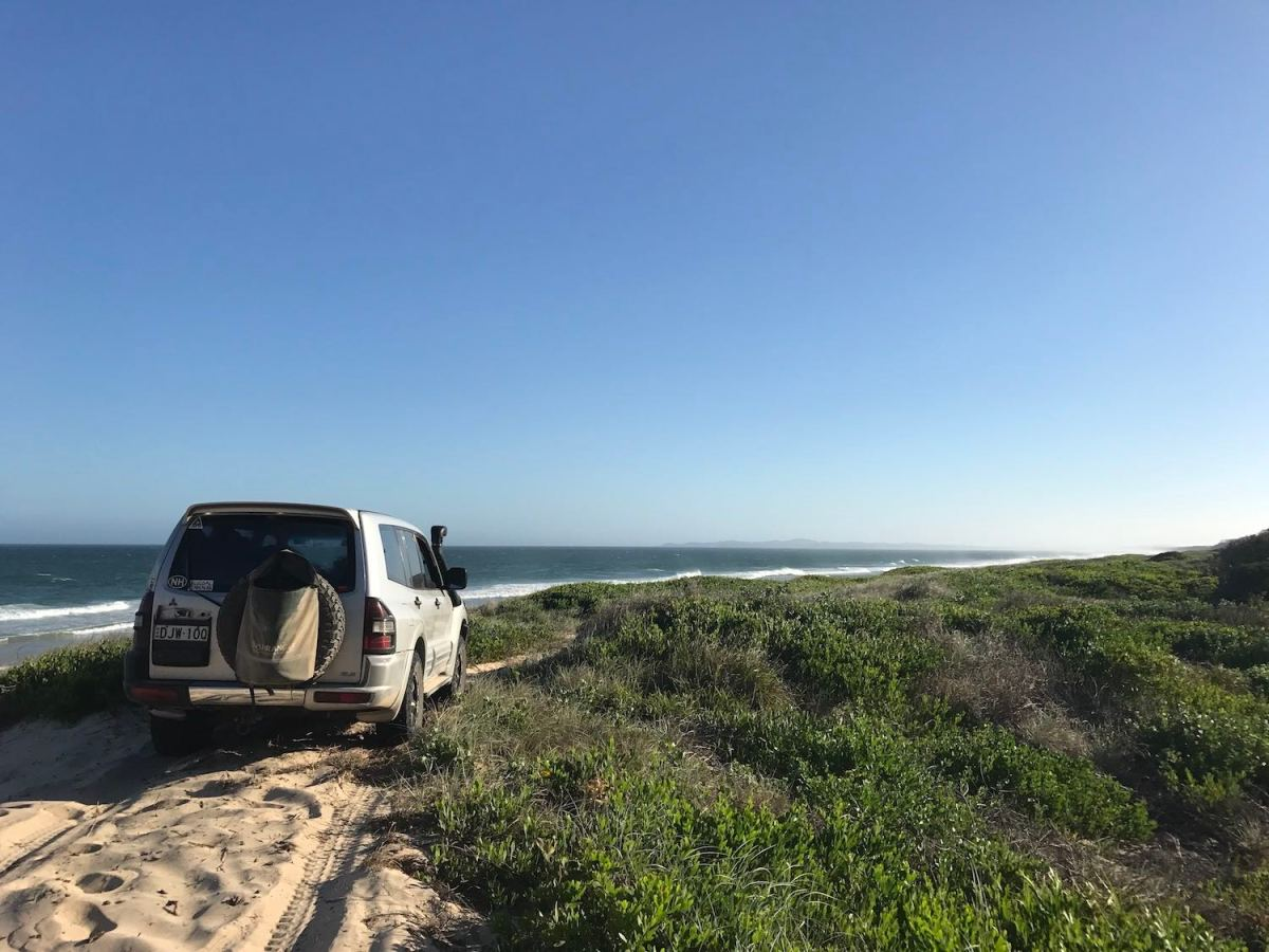 anthony bosch, road trip, next adventure is closer than you think, beach, 4wd