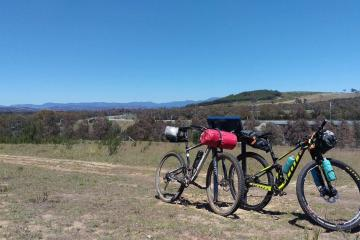Bikepacking The Brindies // Canberra (ACT) Anthony Newman TIM_bike_rig, packs, track