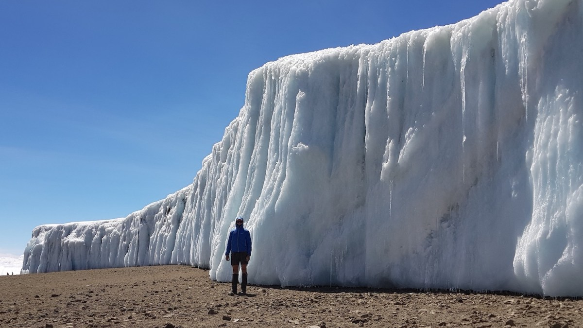 steve plain, glacier, mountaineer, kilimanjaro, ice sheet, melting, project 7in4